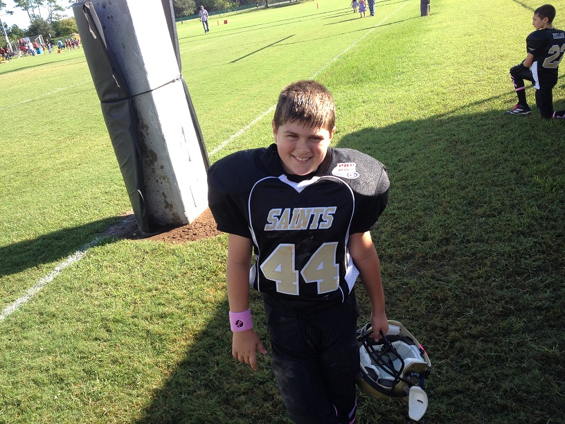 Steven Napoli Center 2013 Saints Might Mites